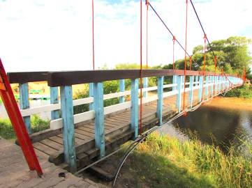 Bridge near Klaipeda Lithuania