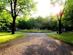 Gardens in Riga, Latvia