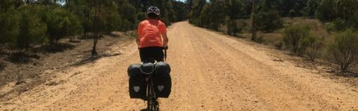 Slippin on the dirt road to Castlemaine, Victoria
