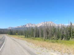 Taken in between Grand Teton National Park and Wind River reservation