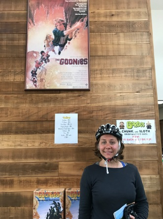Erika got her Goonies fix at the Astoria Visitors Centre