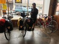 Lovely bike cafe in Vernonia