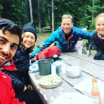 We camped with these guys at Grant Village campground. Ben and Diana are cycling the Great Divide route which takes them from Canada to Mexico over some really tough terrain!