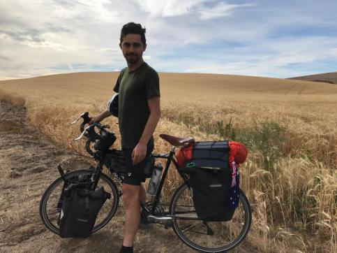 We cycled for 4 days and saw nothing but wheatfields and felt nothing but headwinds.