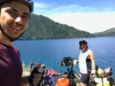 Lake Crescent was huge! 19 km long and on average around 90 metres deep.