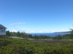 Stopped for a snack and stayed for the view. Taken between Sequim and Port Angeles